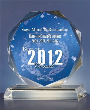 Vernal Motel 2011 Choosen Award